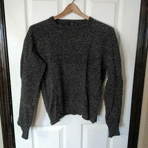 J Crew Women's Grey Wool Sweater